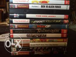 PS2 Games for sale العاب بلاي ستيشن 2