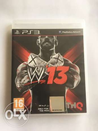 WWE 13 for PS3