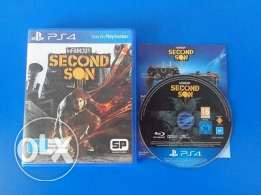 Ps4 game Infamous Second Son