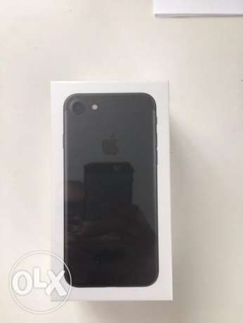 Iphone 7 Black Matte 128 GB المنصورة -  1