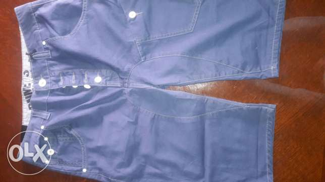 New blue long shorts from UAE