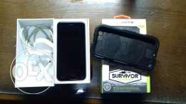 Iphone 6s silver 64GB with Griffin Survivor Original case 100% New