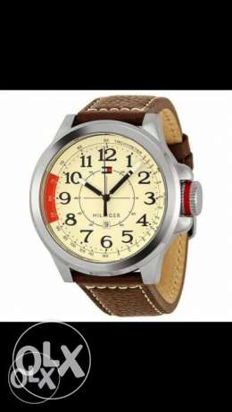 Tommy hilfiger original watch - brown leather strap