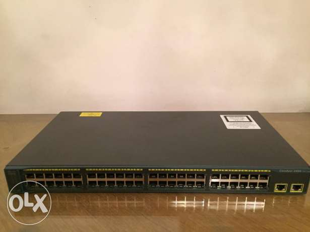 Cisco Catalyst 2960-48TT-L Switch