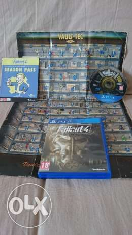 fallout 4 ps4 game like new