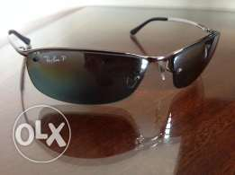 Genuine Rayban model 3183 polarized silver lens