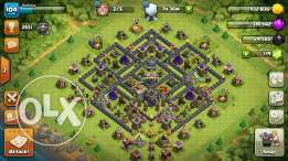 Th9 clash of clans for sale