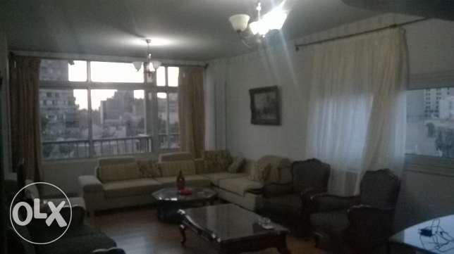 , Fully furnished apartment for rent in garden city , cairo