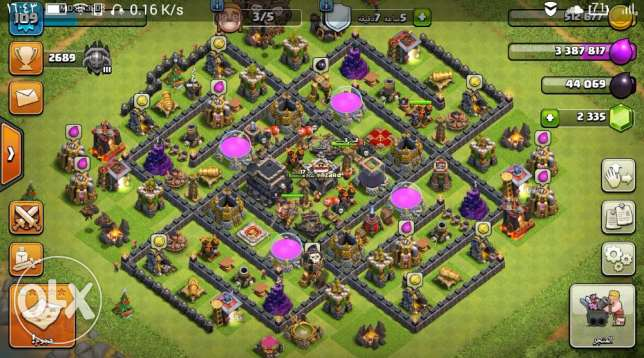Account clash of clans for sale