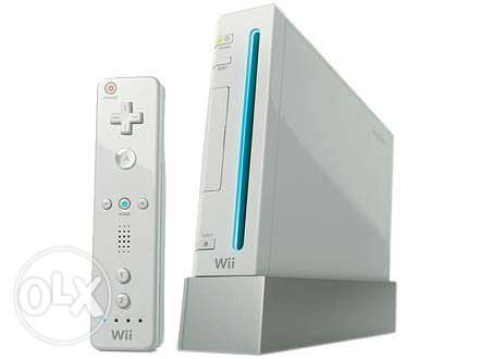 Wii console as new + Extra accessories+ free games الاصلي وليس التقليد