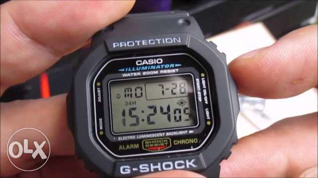 Casio DW-5600E-1VDF G-Shock Rare Watch New وسط القاهرة -  6