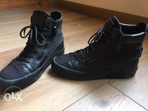 Zanotti all black size 42