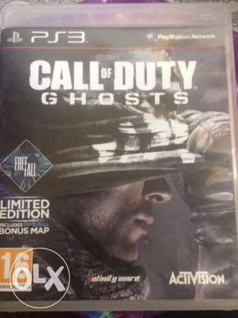 call of duty gohosts