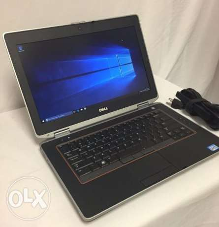 "Dell Latitude 14"" Intel i5 3.20GHz RAM 4GB SSD 128GB كالجديد"