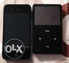 iPhone 4+iPod 2nd generation
