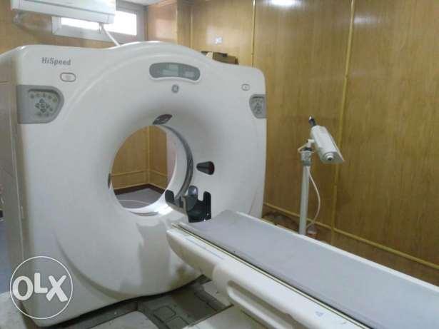 CT scan GE single
