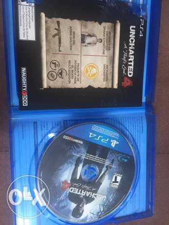 uncharted 4 for sale 500