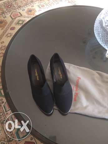 ladies black shoe 38 الدقى  -  1