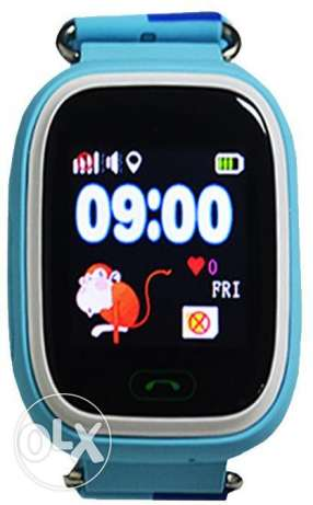 GPS watch tracker for kids touch screen