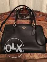 coach handbag (black) from usa