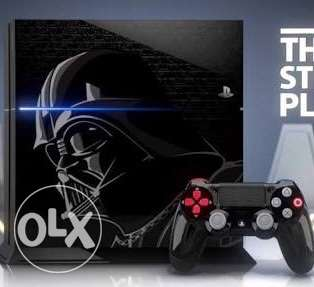New PS4 Limited Edition (STARWARS) version (1TB)