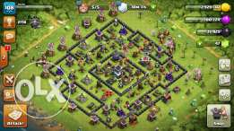 اكونت clash of clans