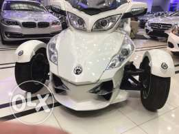 2012 canam Rt Spyder limited only 18000 km never used in egypt