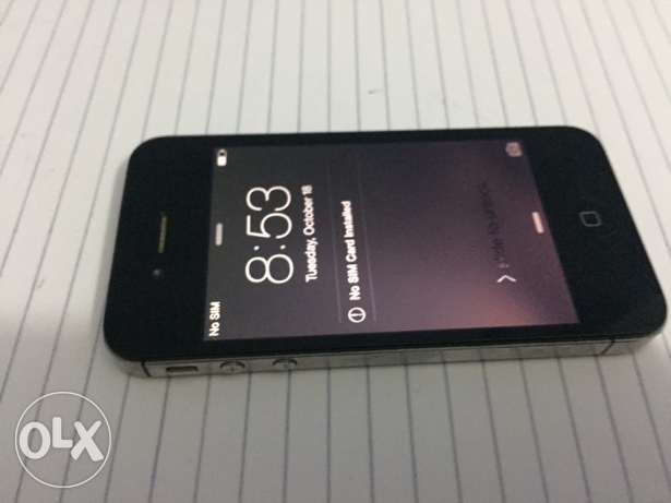 iphone 4s mobinel sim card only no scratch المعادي -  4