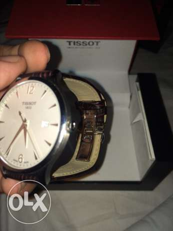 New unused brown leather tissot watch كفر عبدو -  2