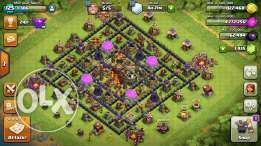 Clash of clans townhall 10 for sale change it to your name