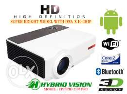 iView Smart WiFi Android Full HD 3D LED Projector بروجكتور 3200 ANSI