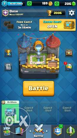 ايميل clash royal. ...ارينا7.