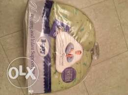 -Boppy Feeding & infant support pillow with slipcover