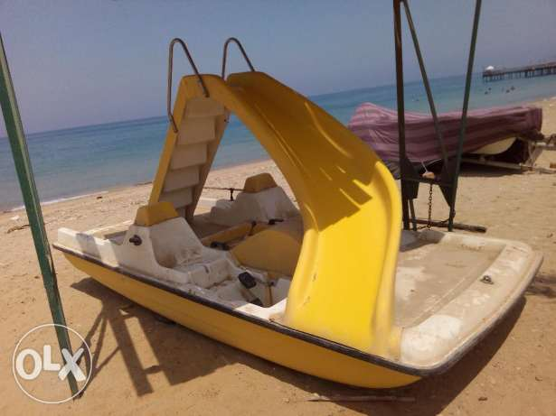 Italian made Pedalo Slide, Keel, Fender, Wheels and ladder بدال ايطالي