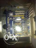(processor x2 + motherboard (support ddr3