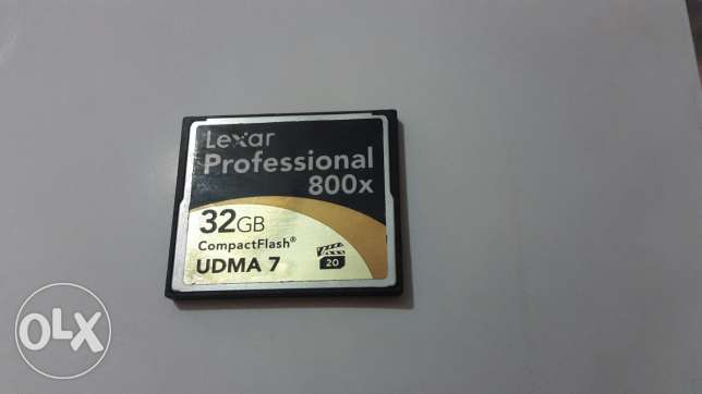 Memory card cf & canon Battery