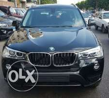 BMW X3 2017 color Black 2000cc