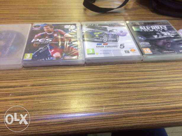Ps3 CDS very good conditions the least price 540 to contact plz call