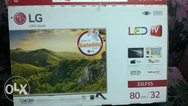 "LG LED TV 32"" with built-in HD receiver"