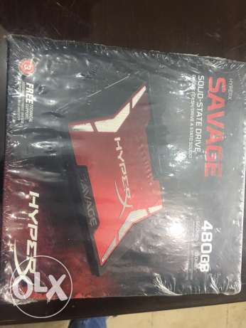 Hard solid state drive hyper x 480 G new
