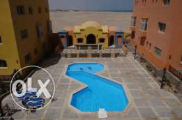 apartment for rent in hurghada in complex residence