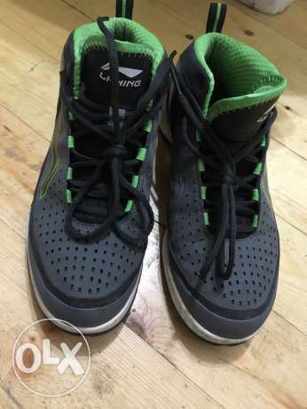 Li Ning Basketball Shoes 42 Euro Size المعادي -  1
