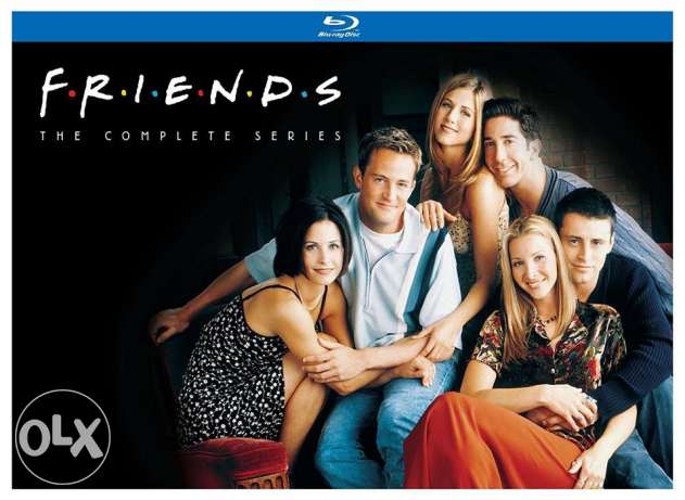Friends Collection All 10 seasons in Bluray 720P Quality
