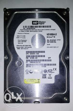 هارد Western Digital 320GB شبرا -  1