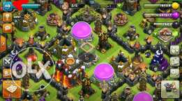 Acc Clash of clans twen 10for sell