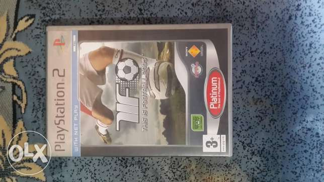 لعبه this is football 2005 لل ps2 اصليه