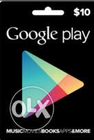 Google Play Store Gift Card (US) 10 USD