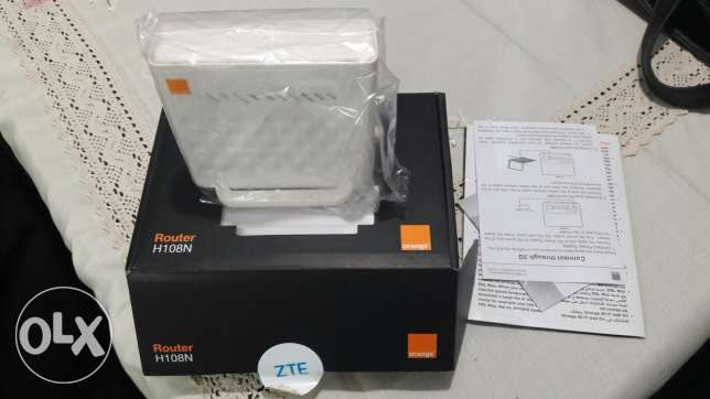 Orange router DSl 4 port and wifi الشيخ زايد -  1