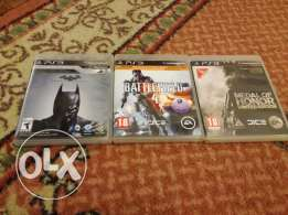 For sale ps3 cds like new