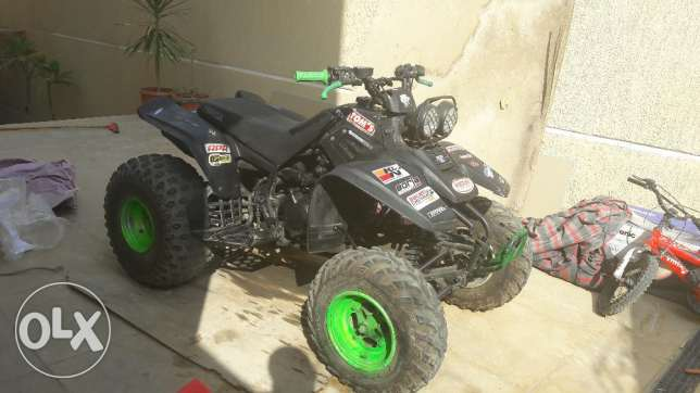 350cc atv yamaha warrior 2002 special edition التجمع الخامس -  1